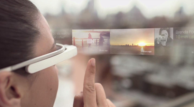 Новые технологии - Google glass
